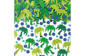 Amscan Palm Tree Party Confetti (Green) (One Size)