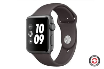 Apple Watch Series 2 Refurbished (Space Grey, Aluminium, 42mm, Nike Black) - AB Grade