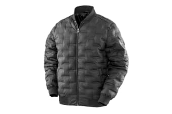 Result Mens Urban Outdoor Ultrasonic Jacket (Black) (L)