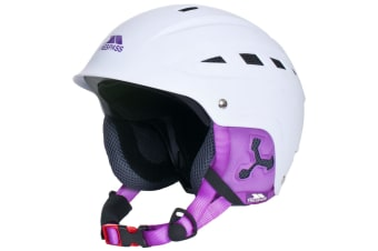 Trespass Womens/Ladies Davenport Winter Snow Helmet (White)