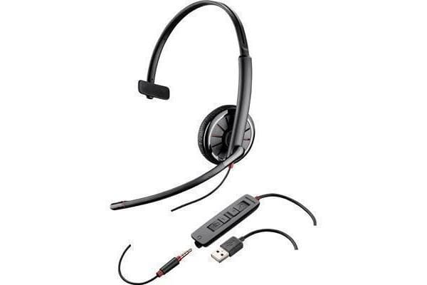 PLANTRONICS BLACKWIRE C315 MONO CORDED USB HEADSET WITH 3.5MM CONNECTION