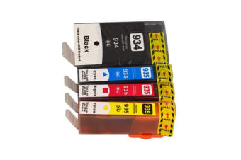 934XL Series Compatible Inkjet Cartridge Set (4 Cartridges)
