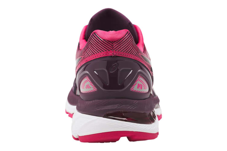 the best attitude 43a6d d7de7 ASICS Women's Gel-Nimbus 19 Running Shoe (Black/Cosmo Pink/Winter Bloom,  Size 6)