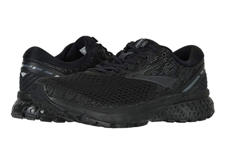 Brooks Men's Ghost 11 (Black/Ebony, Size 10.5)