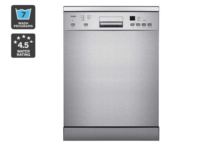 Kogan 60cm Stainless Steel Freestanding Dishwasher