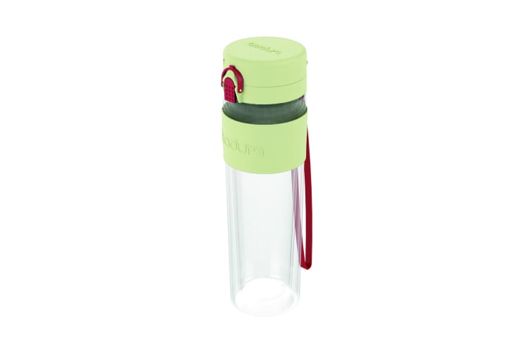 Bodum Bistro Single Wall Drink Bottle with Strap 500ml Pastel Green