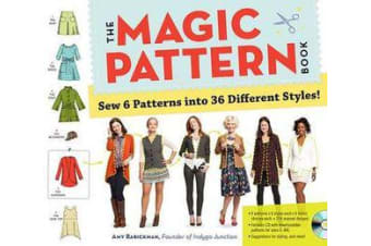 Magic Pattern Book - Sew 6 Patterns into 36 Different Styles!