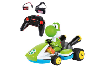 Carrera RC 1:16 Mario Kart Racer - Yoshi 2.4GhZ Remote Controlled Car Kids Toy