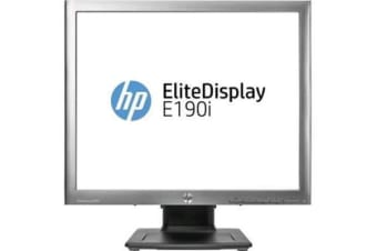 "HP EliteDisplay E190i 18.9"" LED LCD SXGA Monitor 5:4 14 ms 1280x1024 16.7 Million Colours 250 cd/m"