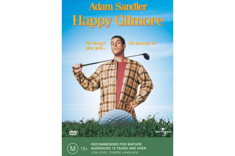 Happy Gilmore DVD Region 4