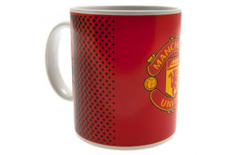Manchester United FC Fade Mug (Red)