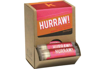 Hurraw! Lip Balm Kapha (Grapefruit, Ginger & Eucalyptus) 4.3g x 24 Display