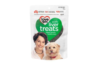 Love'em Pork Liver Treats