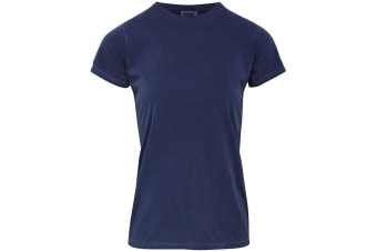 Comfort Colors Womens/Ladies Fitted Tee (Blue Jean) (2XL)