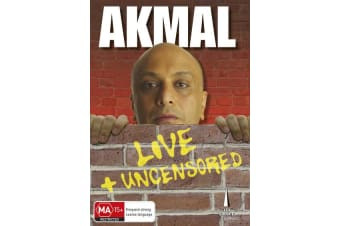 Akmal Live and Uncensored DVD Region 4