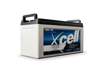 X-CELL AGM Deep Cycle Battery 12V 120Ah Portable Sealed SLA Camping Solar Marine