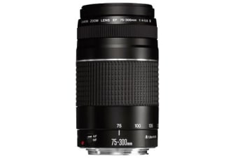 New Canon EF 75-300mm f/4-5.6 III Lens (FREE DELIVERY + 1 YEAR AU WARRANTY)