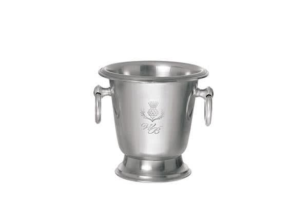 Wilkie Brothers Ice Bucket with Tongs