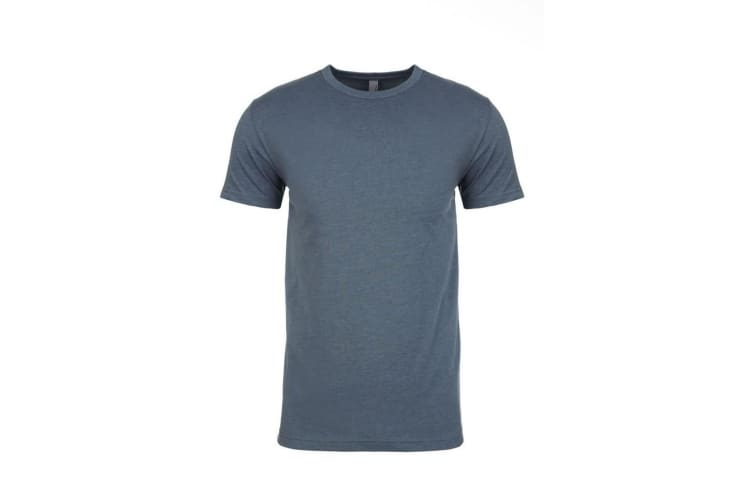 Next Level Adults Unisex CVC Crew Neck T-Shirt (Indigo) (S)