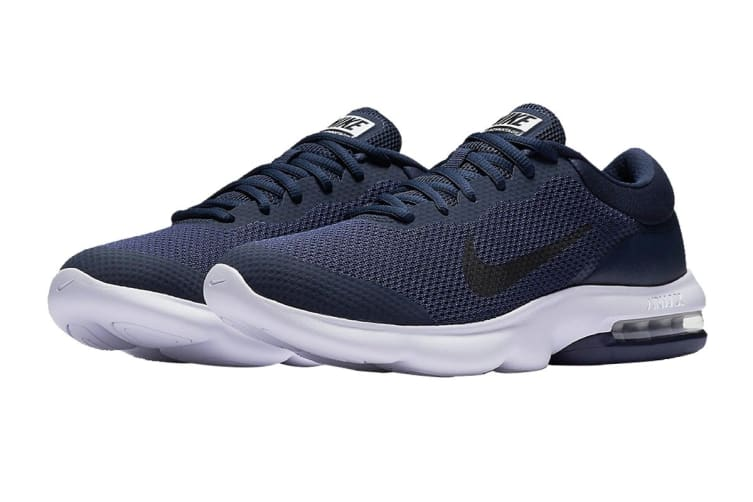 Nike Men's Air Max Advantage Shoes (Midnight Navy/Obsidian/White, Size 9 US)