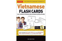 Vietnamese Flash Cards Kit - The Complete Language Learning Kit (200 hole-punched cards, CD with Audio recordings, 32-page Study Guide)