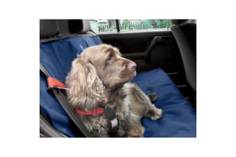 Danish Design Pet Products Waterproof Car Seat Cover (Navy)