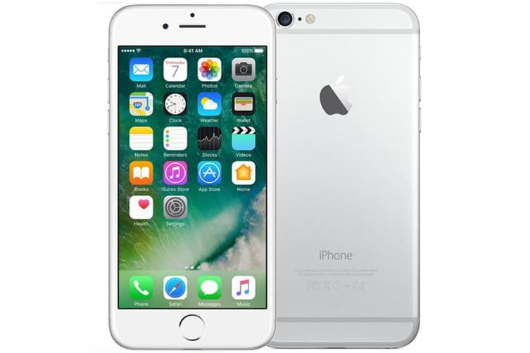 Apple iPhone 6 128GB Phone Silver (AU STOCK, Refurbished - FAIR GRADE)