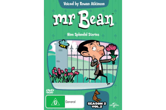 Mr Bean The Animated Adventures Season 2 Volume 2 DVD Region 4