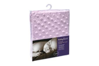 2- Pack Babyrest Minkie Dot Universal Change Mat Cover - Pink (AC5MD/P)