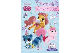 Disney Princess Palace Pets Sticker Activity Book