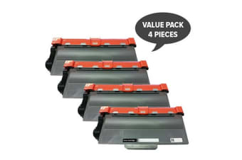 TN-3340 Premium Generic Laser Cartridge (Four Pack)