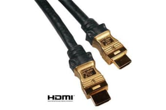 Cabac Hypertec HDMI Cable 15m - V1.4 19pin M-M Male to Male Gold Plated 3D 1080p