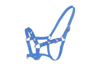 Little Rider Star In Show Head Collar And Leadrope (Regatta Blue)