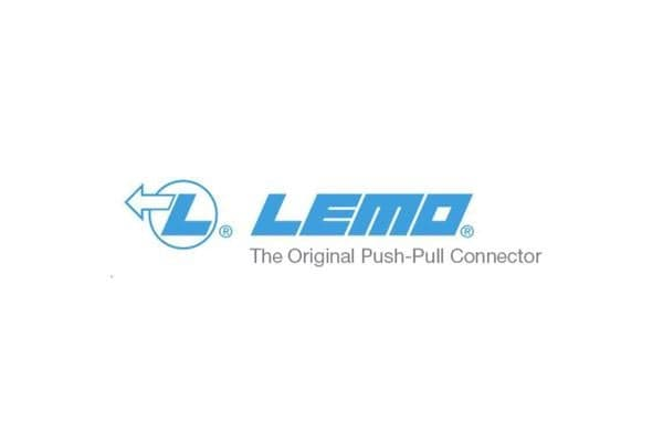 lemo Straight plug 2 pin with collet nut