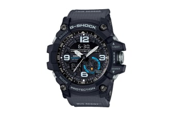 Casio G-Shock Analog Mudmaster Watch with Resin Band - Black (GG1000-1A8)