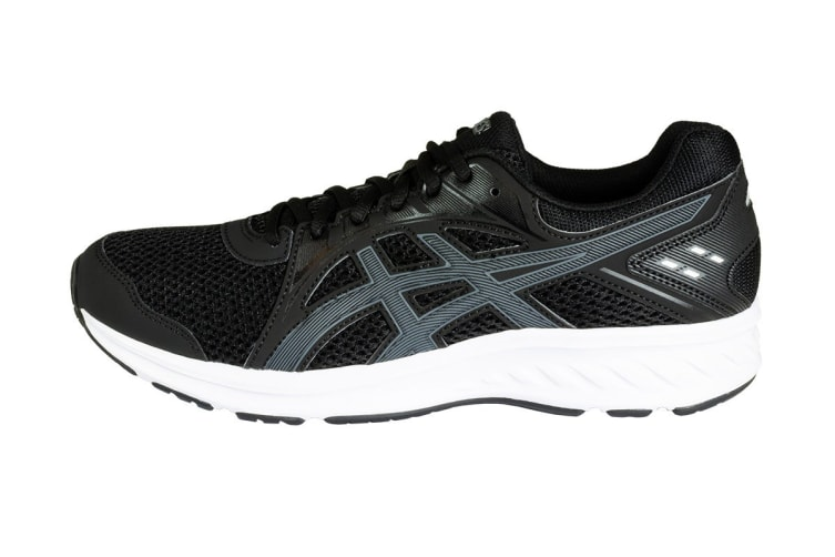 ASICS Men's JOLT 2 Running Shoes (Black/Steel Grey, Size 8)