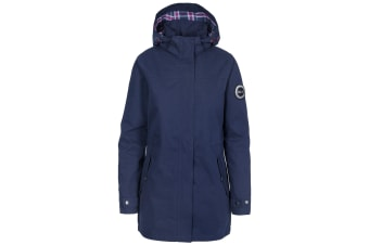 Trespass Womens/Ladies Henriette Waterproof DLX Jacket (Navy)