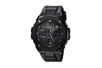 Casio G-Shock Analog Digital Watch with Shock/Water Resistance, Solar Power & Resin Band - Black (GSTS100G-1B)