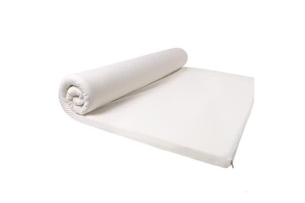 High Density Memory Foam Mattress Topper With Polyester Cover DOUBLE SIZE