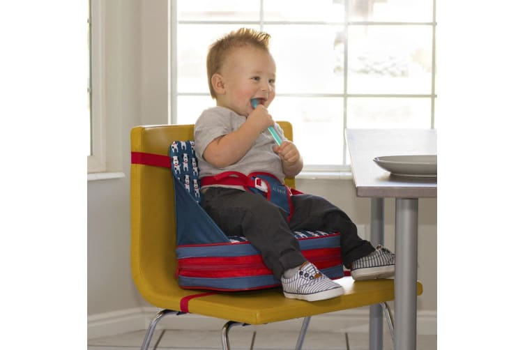 JJ Cole 9m+ Baby/Toddler Feeding/Booster Seat for High-Chair/Foldable/Portable D