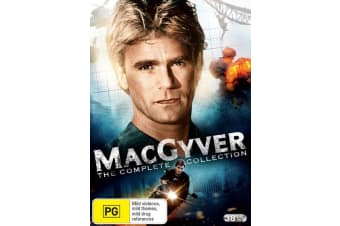 MacGyver The Complete Series Box Set DVD Region 4