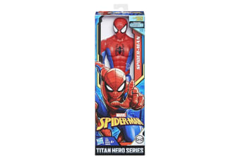 Spiderman Titan Hero Series Spiderman 12-inch Figure