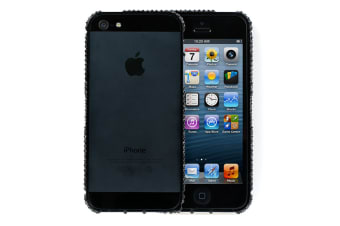 Sparkly Rhinestone Bumper Case for iPhone 5/5s/SE (Black)