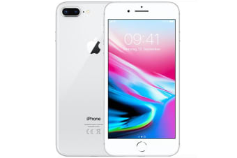 Used as Demo Apple Iphone 8 Plus 64GB Silver (AU STOCK, AU MODEL, 100% Genuine)