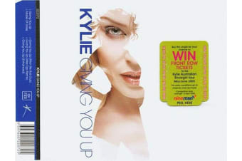 Kylie – Giving You Up BRAND NEW SEALED MUSIC ALBUM CD - AU STOCK