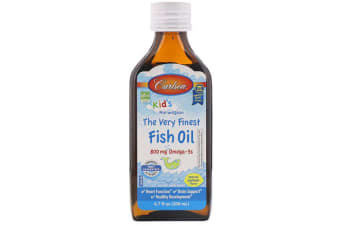 Carlson Labs Kid's Norwegian - The Very Finest Fish Oil Natural Lemon Flavour - 200 ml