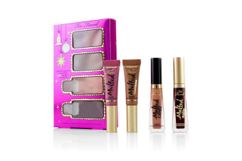 Too Faced Under The Kissletoe The Ultimate Liquified Lipstick Set 4pcs