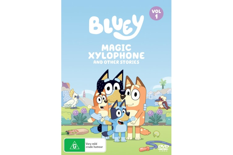 Bluey Volume 1 Magic Xylophone and Other Stories DVD Region 4