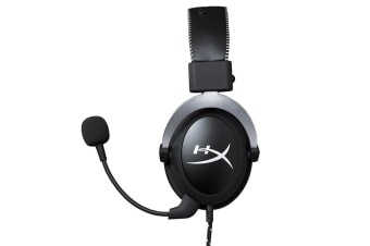 HyperX Cloud Pro Gaming Headset - Silver - with In-Line Audio Control for PS4, Xbox One, and PC