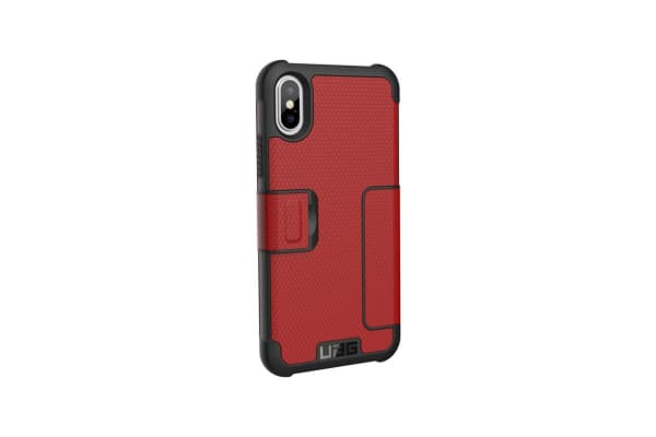 UAG Metropolis Series Case for iPhone X (Magma)
